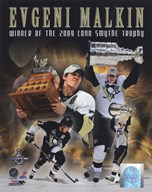 Evgeni Malkin 2008-09 Stanley Cup Finals Conn Smythe Trophy Winner Portrait Plus (#61) Art