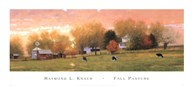 Fall Pasture  Fine Art Print