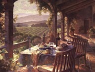 Wine Country Afternoon  Fine Art Print