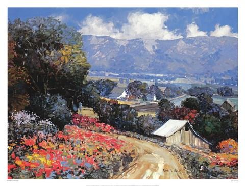 Land Bountiful Fine Art Print By Kent Wallis At
