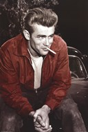 James Dean - Red Jacket