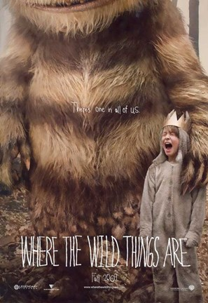 Framed Where the Wild Things Are - style A Print