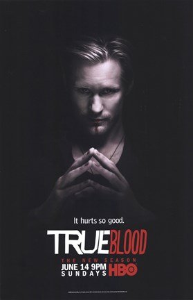 Framed True Blood - Season 2 - Alexander Skarsgard [Eric] Print