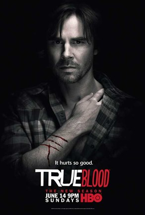 Framed True Blood - Season 2 - Sam Trammel [Sam] Print
