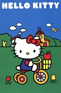 Hello Kitty - Bike Scene