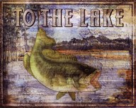To the Lake Art
