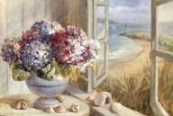 Coastal Hydrangea Art
