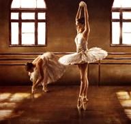 Ballet Dancers Art