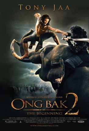 Framed Ong Bak 2: The Beginning, c.2008 - style B Print