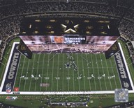 Cowboys Stadium Overhead View ( 2009)  Fine Art Print