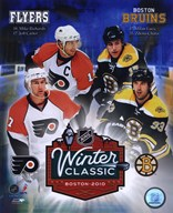 2010 NHL Winter Classic Matchup Composite Art