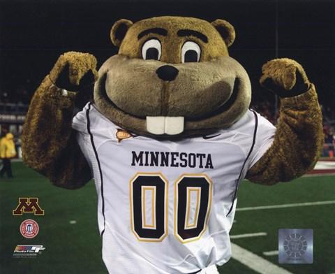Mascot Goldy University Of Minnesota Golden Gophers 2008