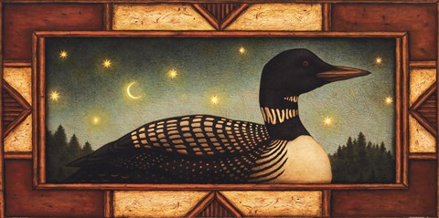 Framed Loon Print