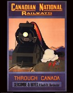 Canadian National Railways Art