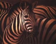 Zebra Grande Art