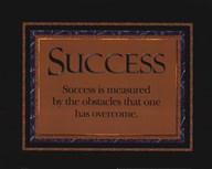 Success quote  Fine Art Print