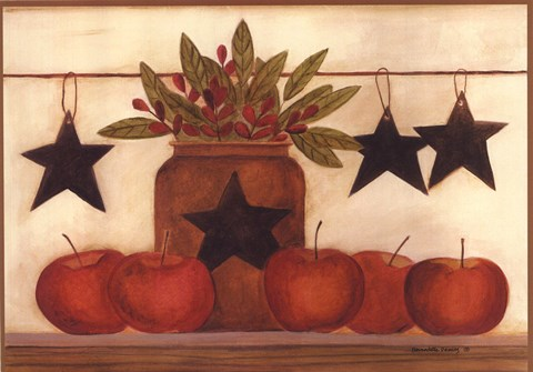 Framed Star Apples Print