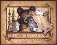 Bear Necessities  Fine Art Print