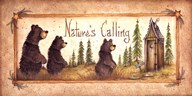 Nature's Calling  Fine Art Print