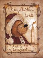 Merry Christmas to All  Fine Art Print