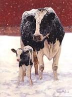 First Christmas  Fine Art Print