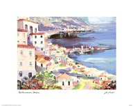 Mediterranean Harbor  Fine Art Print