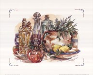 Spiced Oil and Vinegar Collection I  Fine Art Print