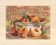 Fruit Stand Peaches  Fine Art Print