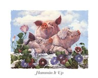 Hammin It Up  Fine Art Print