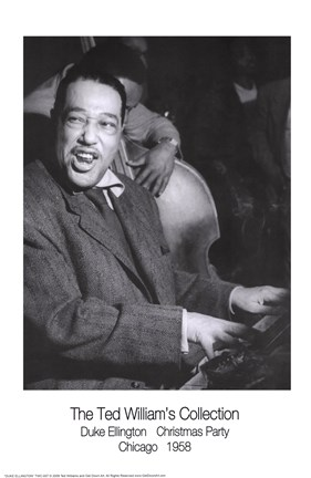 Framed Duke Ellington Print