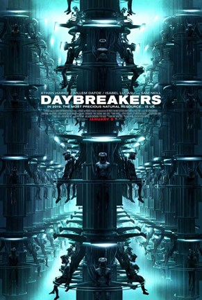 Framed Daybreakers - style B Print