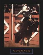 Courage - Bull Rider  Fine Art Print