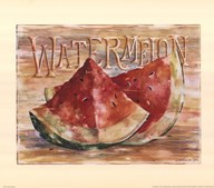 Fruit Stand Watermelon Art
