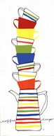 Stacks of Cups II Art
