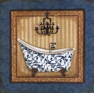 Blue Slipper Bath I