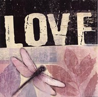 Love - Dragonfly  Fine Art Print