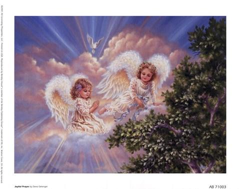 Joyful Prayer Fine Art Print By Dona Gelsinger At