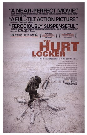 Framed Hurt Locker, c.2009 - style C Print