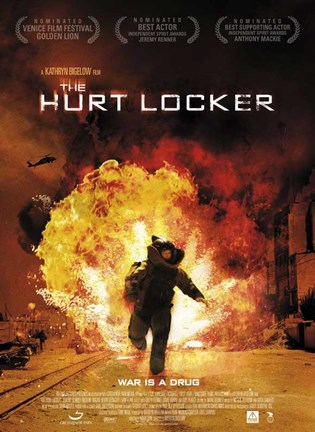 Framed Hurt Locker, c.2009 - style D Print