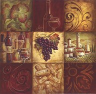 Tuscan Wine II - mini  Fine Art Print