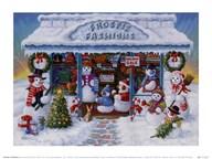 Frostie Fashions  Fine Art Print