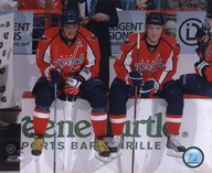 Alex Ovechkin & Alexander Semin 2009-10 Action Art