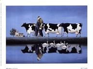 Delta Cows  Fine Art Print