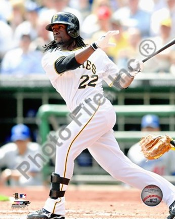 Framed Andrew McCutchen 2010 Action Print
