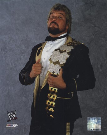 "Framed Ted DiBiase ""The Million Dollar Man"" #631 Print"