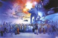 Star Wars - Galaxy  Wall Poster
