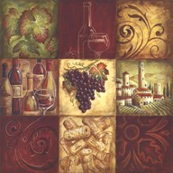 Tuscan Wine II Art