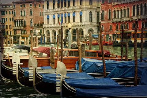 Framed Venetian Canals IV Print