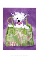 Chinese Crested Handbag Art