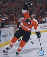 Danny Briere 2009-10 Playoff Action Art